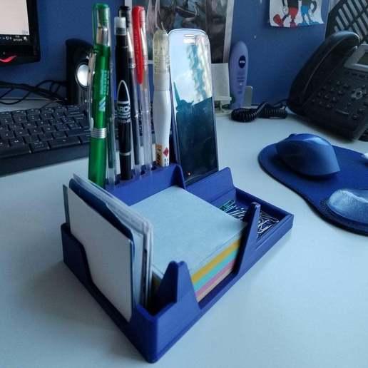 3d Printing Designs Desktop Organizer