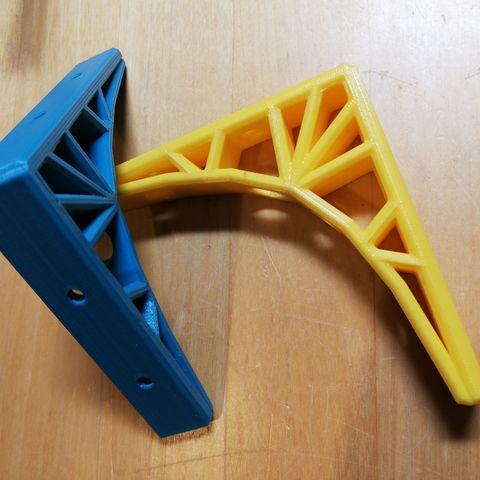 3D printer models Eiffel Bracket, makerpat