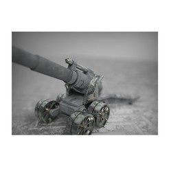 3D print model Earthshaker Proxy 28mm Heavy Artillery , delCastillo