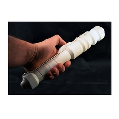 Download 3D printing designs Qu Rahn legacy Katarn inspired 3d printed lightsaber, delCastillo