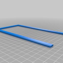 Celkovy_ram.png Download free 3MF file Dollhouse door • 3D printer template, Fotonoska3D