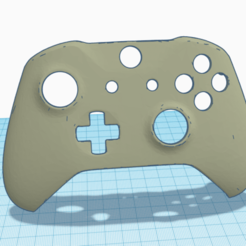Annotation_2020-02-20_092236.png Download free STL file Xbox One S Controller Modified • Object to 3D print, blitza700