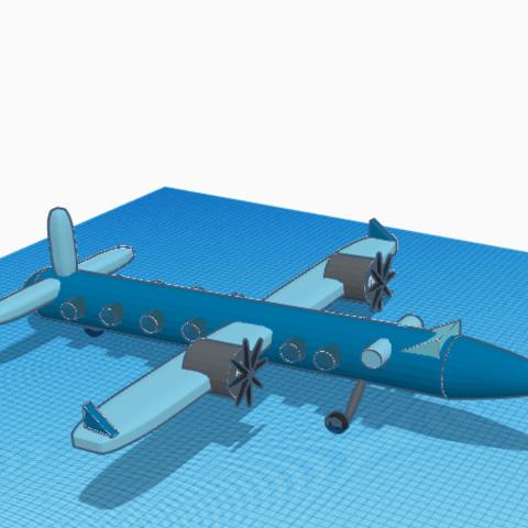 Free 3D printer model avoion petite taille, podddingue