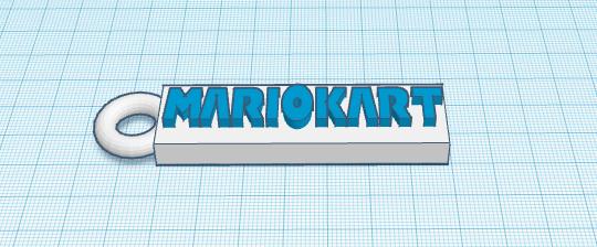 FireShot Capture 022 - 3D design porte cle mario kart - Tinkercad - www.tinkercad.com.png Download free STL file porte clé MARIO KART • 3D printable model, podddingue