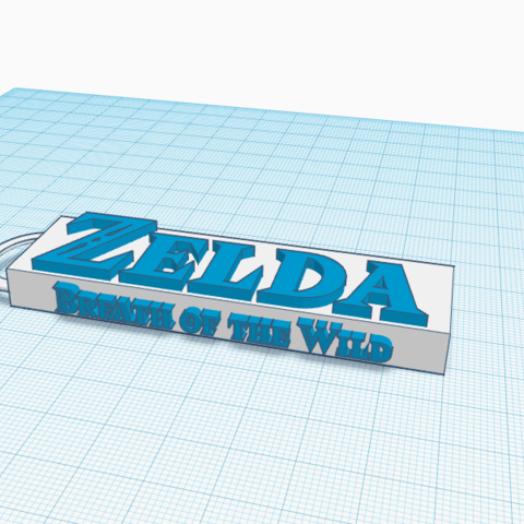 Download free 3D printing files porte cle zelda, podddingue