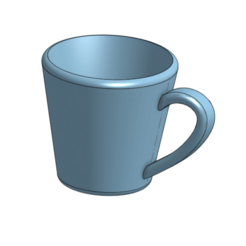 FireShot Capture 025 - Mug - Part Studio 1 - cad.onshape.com.png Download free STL file Mug • 3D printing object, podddingue