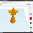 Free 3D model étoile de noel, podddingue