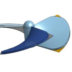 Descargar archivo 3D gratis hélice bateau, podddingue