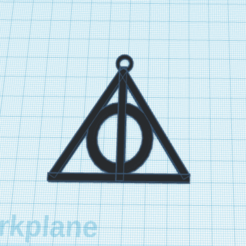 FireShot Capture 019 - 3D design Surprising Vihelmo-Bigery - Tinkercad - www.tinkercad.com.png Download free STL file harry potter keychain • 3D printable design, podddingue