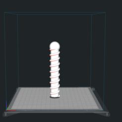 Impresiones 3D gratis Consolador Twist, Paulus