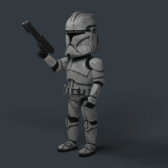 Descargar archivos 3D Space trooper, 3dprintink