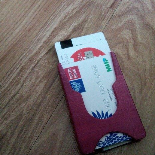 Télécharger fichier 3D gratuit Portefeuille pour cartes et pince à billets, Faraa