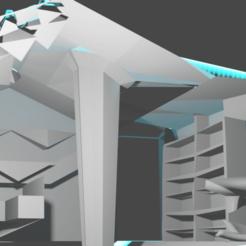 bedroom.png Download STL file sci fi bedroom room • 3D printer template, Bendtfusion