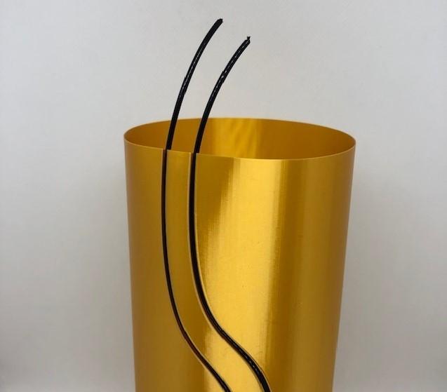 gold insert.jpg Download STL file Waterfall Filament Vase Collection • 3D printing object, 3DWinnipeg