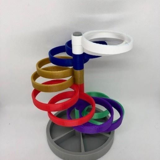Télécharger objet 3D gratuit Porte-stylo à spirale, 3DWinnipeg