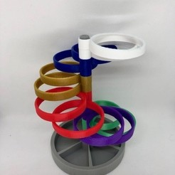 Download free 3D printing files Spiral Pen Holder, 3DWinnipeg