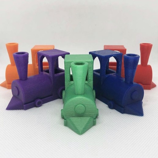 Télécharger fichier imprimante 3D gratuit Test de train Imprimé, 3DWinnipeg