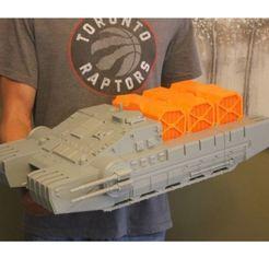 iso 3.JPG Download STL file Imperial Combat Assault Tank • Model to 3D print, 3DWinnipeg