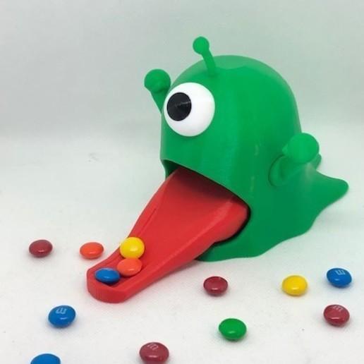 green alien.jpg Télécharger fichier STL Distributeur de bonbons pour étrangers • Plan pour impression 3D, 3DWinnipeg