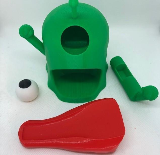 peices.jpg Télécharger fichier STL Distributeur de bonbons pour étrangers • Plan pour impression 3D, 3DWinnipeg
