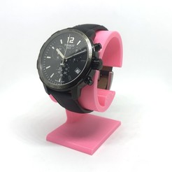 watchstand-pink.jpg Download free STL file Watch Stand+ • Model to 3D print, modellerhouse