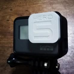 Photo-1.jpg Download free STL file GoPro Hero 5 Black Lens Cap • 3D printable template, modellerhouse