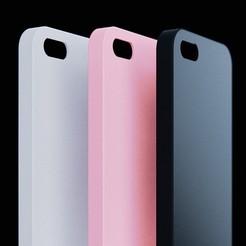 export-1.jpg Download free STL file iPhone SE/5s/5 Phone Case • 3D print model, modellerhouse