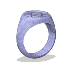 Download free 3D printing templates Men Of Letters Ring, ColinSS906