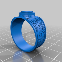 Download free 3D printer templates Supernatural - Four Horsemen Of Apocalypse's Rings, ColinSS906