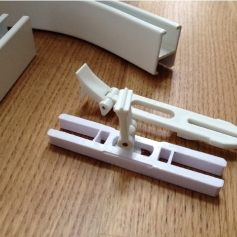 Free 3D print files VIDGA rail connector, Grisworks
