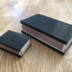 Modelos 3D gratis Tapa de la caja de cerillas (caja pequeña), Grisworks