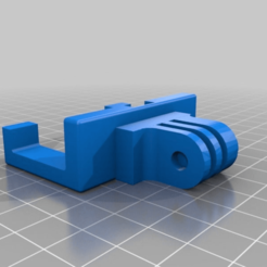 90ebfb80215d97ac3f77718887738a12.png Download free STL file Yet Another Robo3D R1+ GoPro Bed Mount • Object to 3D print, alphacat