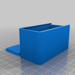 0eeea8f1eedf738ebaf6b89f566a32f6.png Download free STL file My Customized Parametric Box with Sliding Lid • 3D printer model, huskyte