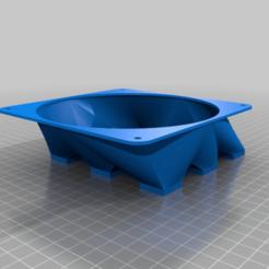 IKEA_Lack_Fan_Cabinet.png Télécharger fichier STL gratuit Manque Lekman Box insert pour ventilateur 140 mm • Design pour imprimante 3D, huskyte