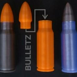 bulletz.jpg Download STL file bulletZ  • 3D print template, matteomessina2004