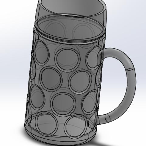 3D printing model Beer mug - Beer mug, jevvincent