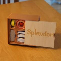 DSC08587 (2).JPG Télécharger fichier STL gratuit Boîte de jeu Splendor (Compact) • Design à imprimer en 3D, justinzing7