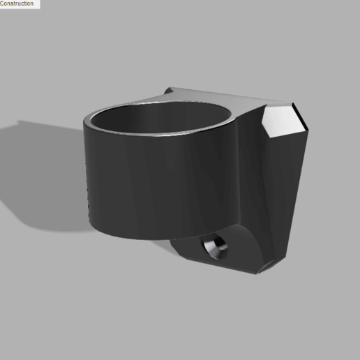testtube_wallmount.png Download free STL file Test Tube Holder and Wall Mount • 3D print model, justinzing7