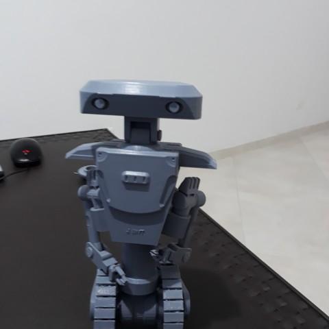 Archivos STL Robot con oruga, jjmaker3d