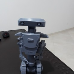 3D print model Robot with caterpillar, jjmaker3d