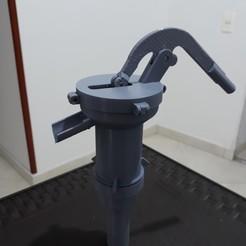 Modelos 3D para imprimir Bomba de agua manual, jjmaker3d