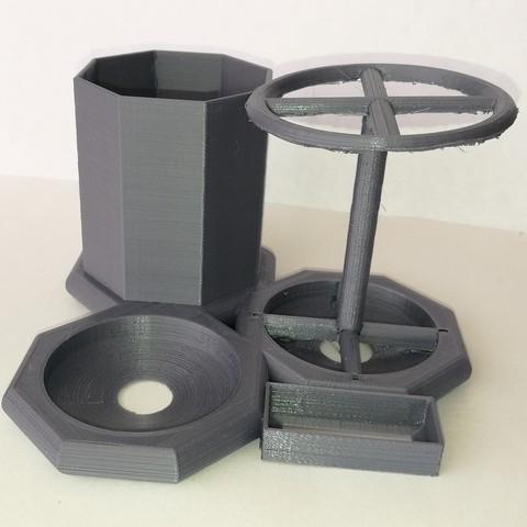 Impresiones 3D Estacion kit de limpieza de dientes, jagp47