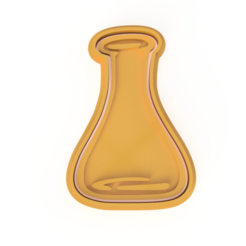 ER R.png Download STL file CUTTER COOKIE MARIE CURIE QUIMICA • Model to 3D print, MaybellineM