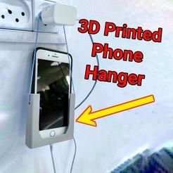 20200720_171934-02.jpeg Download STL file Phone Hanger • 3D print object, jordengx