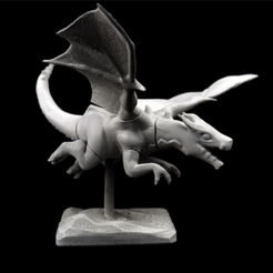3D print model Dragon | Clash Of Clan 3D MODEL, GeekArmy3D
