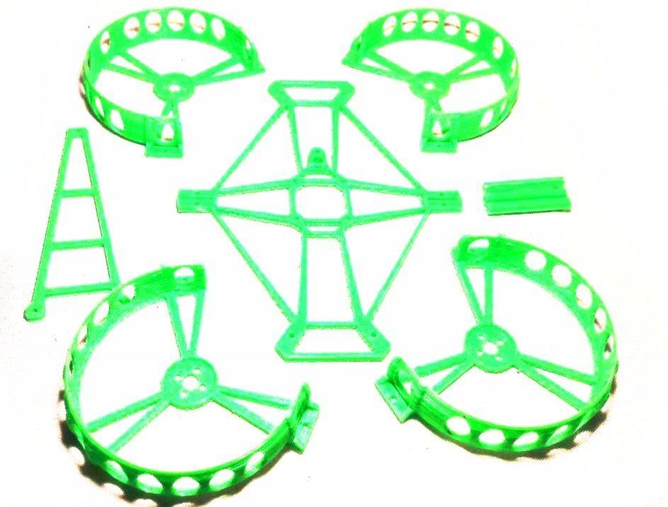 9350be218e15ce2325a6cab4f0ba3ae1_display_large.jpg Télécharger fichier STL gratuit Micro quadrocoptère - Semi-conduits interchangeables - Châssis en Beecheese V11 • Modèle pour imprimante 3D, noctaro