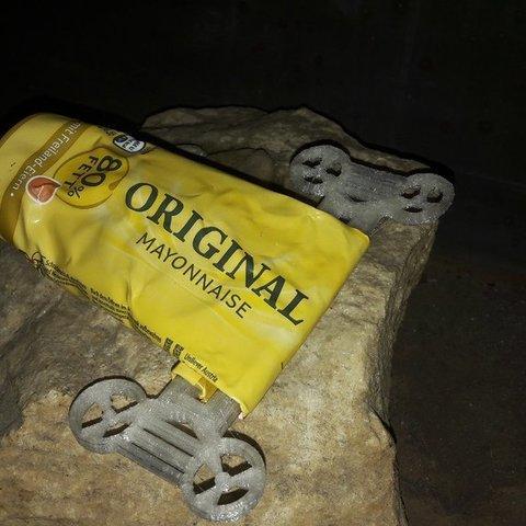 Free 3D printer files Ducted big tube key, noctaro