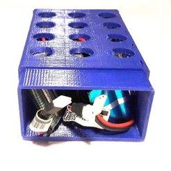 Descargar modelos 3D gratis Lipo 1S 500mah 60C - maletín de transporte / almacenamiento, noctaro