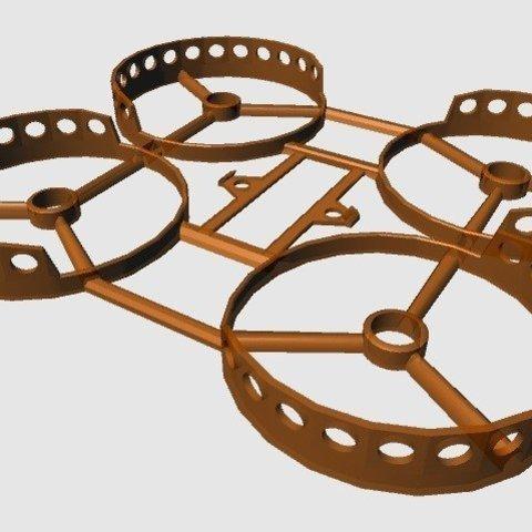 5a45eb0103bafcbf83ac9b50ffeb7ed8_display_large.jpg Download free STL file Semi Ducted Micro Frame (Beecheese Frame V2) • 3D print design, noctaro