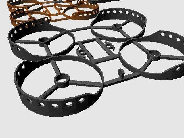 30d0dad4e9d8a1e222e477170ff09bca_display_large.jpg Télécharger fichier STL gratuit Micro cadre semi-dirigé (Beecheese Frame V3) (montage sur came intégré) • Design pour imprimante 3D, noctaro